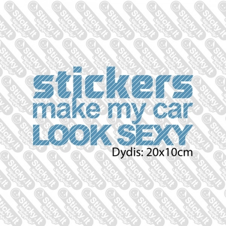 Stickers Make My Car Sexy