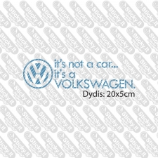 It's Not A Car It's A VW
