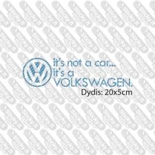 It's Not A Car It's A VW