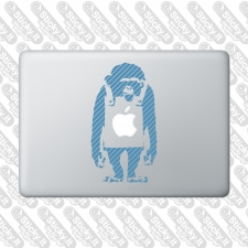 MacBook- Banksy Monkey