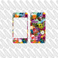 iPhone 4-4s Skin- StickerBomb