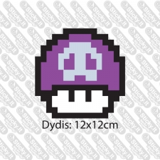 Deadly Mario Mushroom (Printed)