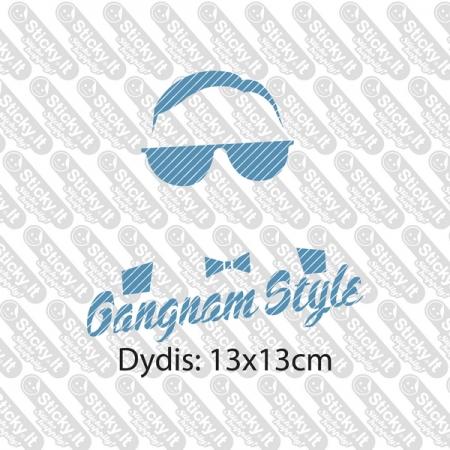 Gangnam Style Silhouette