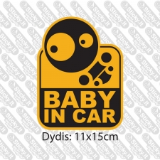Baby In Car- Stylish