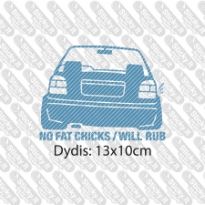 No Fat Chicks (VW)
