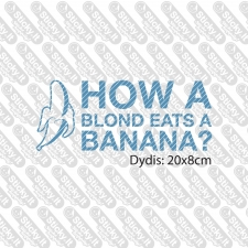 How A Blond