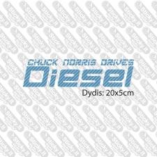 Chuck Norris Drives Diesel