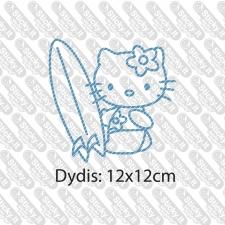 Hello Kitty Surfer