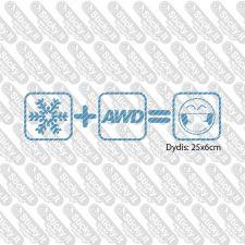 Snow + AWD