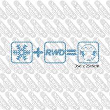 Snow + RWD