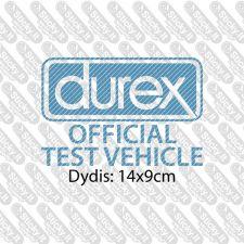 Durex - Official Test Vehicle