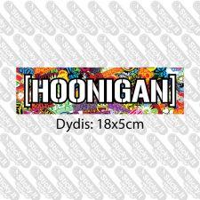 Hoonigan Stickerbombed