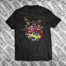 Stickerbombed Bomb Tee