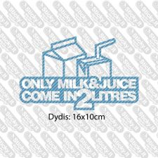 Only Milk And Juice...