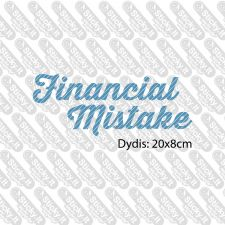 Financial Mistake