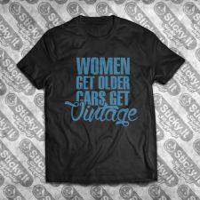 Women Get Older Cars Get Vintage