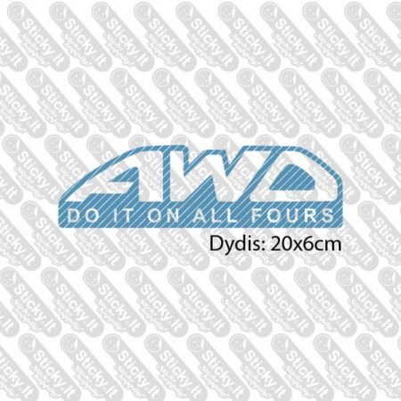 AWD - Do It On All Fours