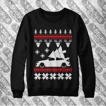 Honda Civic 10Gen Type-R FK8 Kalėdinis džemperis