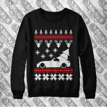 Mazda MX-5 Miata ND Kalėdinis džemperis