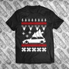Honda Civic 88-91 4Gen EF Kalėdiniai marškinėliai