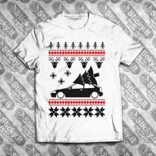 Honda Civic 96-00 6Gen EK Hatch Kalėdiniai marškinėliai