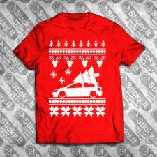 Honda Civic 01-05 7Gen EP Kalėdiniai marškinėliai