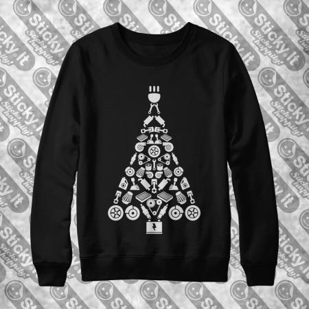 Turbo Eglutė - Kalėdinis džemperis