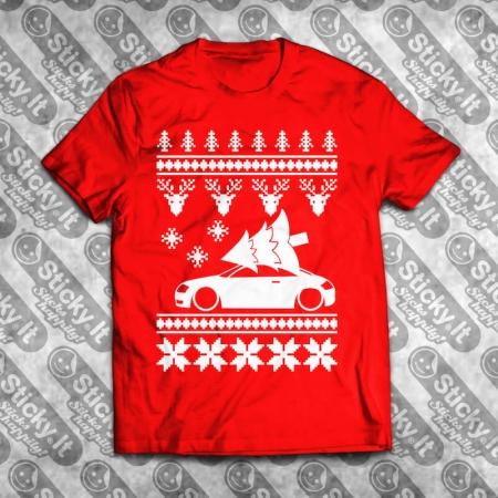 Audi TT Kalėdiniai marškinėliai